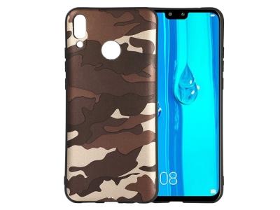 Силиконов Гръб Camouflage - Huawei Y9 (2019) - Green