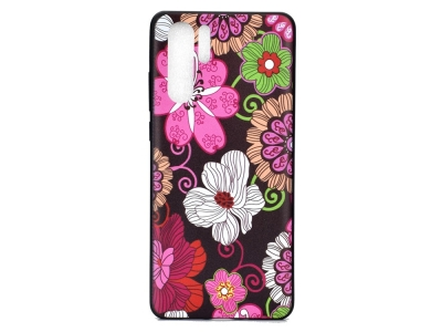 Силиконов Гръб за Huawei P30 Pro, Цветя