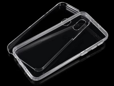 360 Градуса калъф за Samsung Galaxy A40, Прозрачен