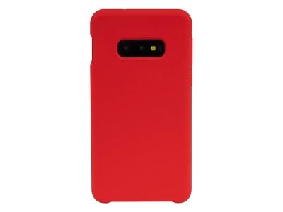 Пластмасов Гръб LUX за Samsung Galaxy S10e, Червен