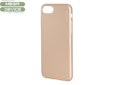 Пластмасов Гръб X-LEVEL за iPhone 7 (4.7), Розов/ Златист
