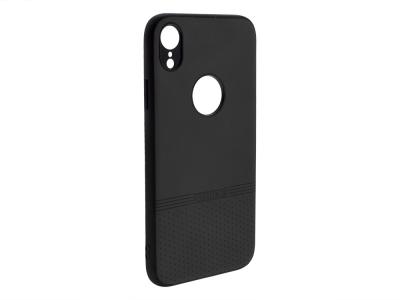 Силиконов гръб Lishen за iPhone XR (6.1), Черен
