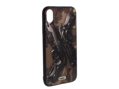 Пластмасов гръб Boter за iPhone XR (6.1), Пистолети
