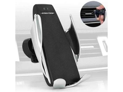 Поставка за Автомобил с Безжично Зарядно S5 Smart Sensor