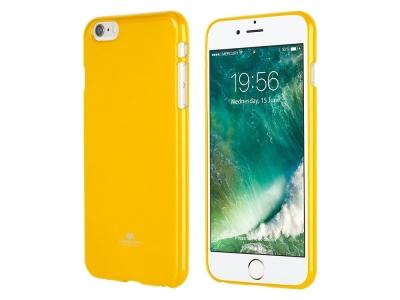 Силиконов гръб Jelly Mercury за iPhone 6 (4,7), Жълт