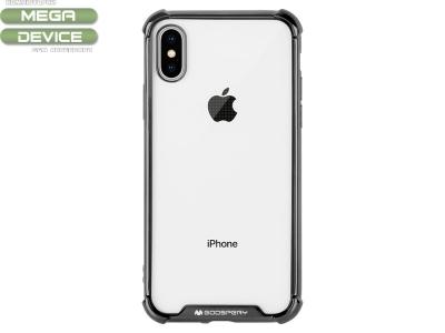 Силиконов Гръб Mercury WONDER за iPhone X / XS, Черен
