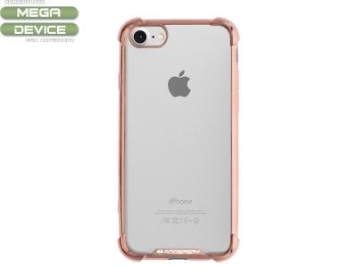 Силиконов Гръб Mercury WONDER за iPhone 7 / iPhone 8, Розов/ Златист