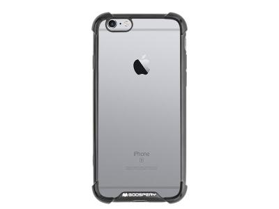 Силиконов Гръб Mercury WONDER за iPhone 6 / 6S, Черен