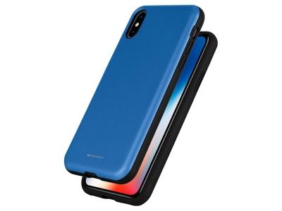 Калъф Гръб SKINNY BUMPER - iPhone XS Max - Blue