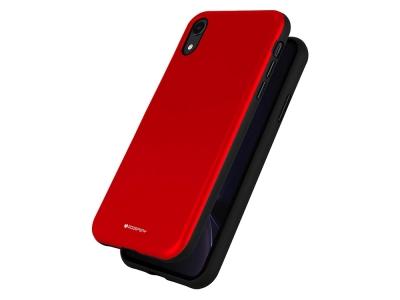 Удароустойчив Гръб Mercury SKINNY за iPhone XR, Червен
