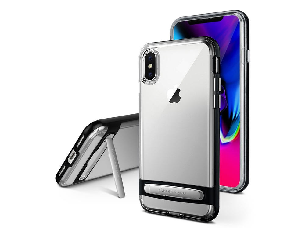 Силиконов гръб Mercury DREAM BUMPER за iPhone XS Max, Черен