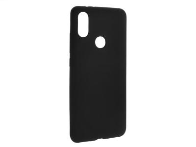 Силиконов Гръб Jelly Mat за Xiaomi Mi A2, Черен