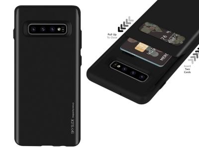 Калъф Гръб SKY SLIDE Mercury - Samsung Galaxy S10 Plus (G975) - Black