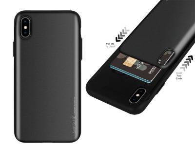 Калъф Гръб SKY SLIDE Mercury - iPhone XS MAX - Black