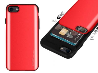 Калъф Гръб SKY SLIDE Mercury за iPhone 7 / iPhone 8, Червен