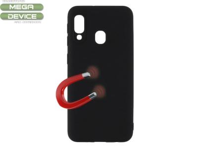 Силиконов гръб MAGNET за Samsung Galaxy A20e, Черен
