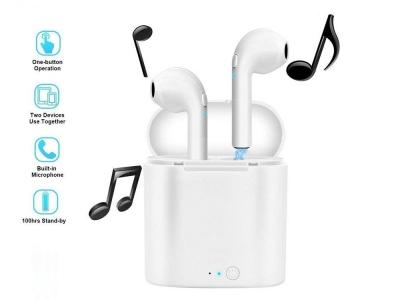 Безжични Слушалки Bluetooth i7 TWS Mini Stereo