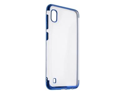Силиконов гръб с лайсна CLEAR за Samsung Galaxy A10 /M10, Син