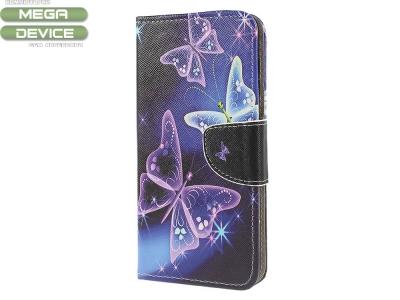 Калъф Тефтер за Samsung Galaxy A50/ Galaxy A30s, Лилави пеперуди