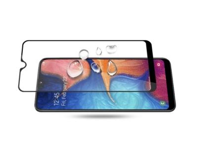 Стъклен Протектор 3D за Samsung Galaxy A20e , Черен