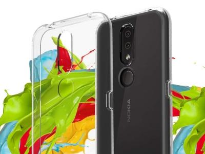 Силиконов гръб за Nokia 4.2, Прозрачен