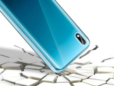 360 Градуса калъф за Huawei Y5 2019, Прозрачен