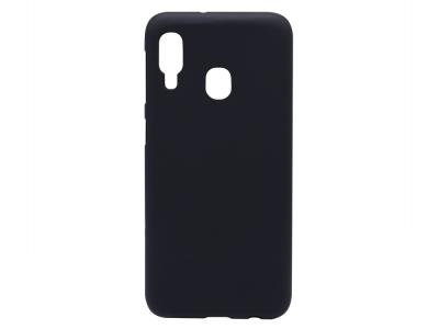 Силиконов гръб Matte Samsung Galaxy A20e , Черен