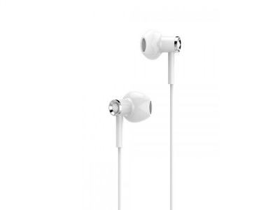 Слушалки с микрофон HOCO Canorous M47 3.5mm, Бял