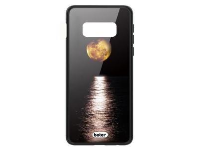 Пластмасов Гръб Glass Boter за Samsung Galaxy S10e, Луна