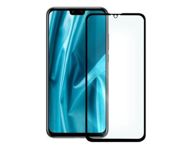Стъклен протектор 5D Full Glue - Huawei Y9 (2019) Black