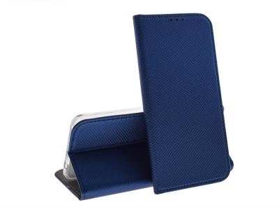 Калъф тефтер Smart Book за Huawei P30 Lite, Син