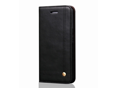 Калъф тефтер Prestige за Huawei P30 Lite, Черен