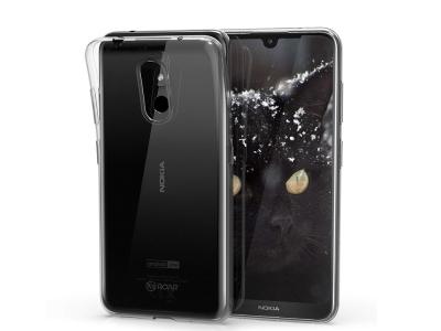 Силиконов гръб Armor Jelly Roar за Nokia 3.2, Прозрачен