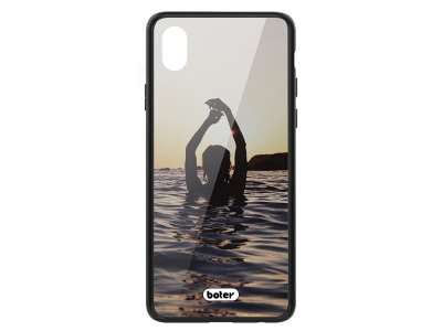 Пластмасов Гръб Glass Boter за iPhone XR (6.1), Русалка
