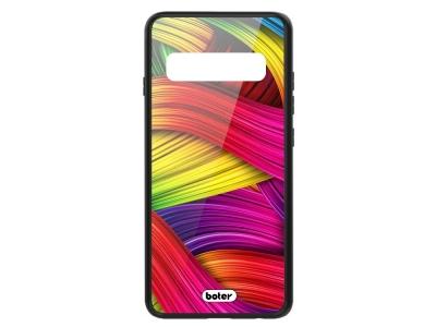 Калъф Гръб Glass Boter - Samsung Galaxy S10 Plus - Colorful