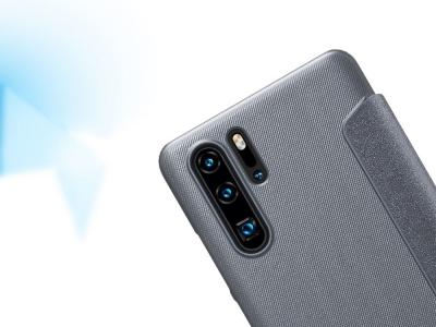 Калъф Тефтер Nillkin Sparkle S-View за Huawei P30 Pro, Черен