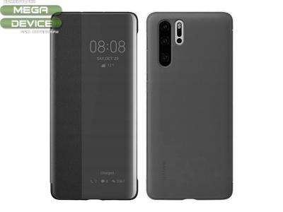 Оригинален Калъф Тефтер View Cover за Huawei P30 Pro , Черен