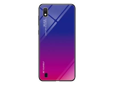 Калъф Гръб Glass - Samsung Galaxy A10 / M10 - Rose / Blue