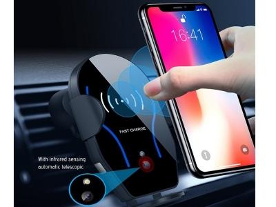 Стойка за кола и Безжично зарядно Induction Wireless Car