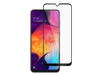 Стъклен протектор 3D Full за Samsung Galaxy A10, Черен