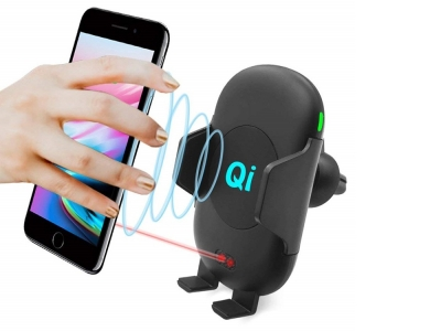 Поставка за Автомобил с Безжично Зарядно C10 IR Sensor