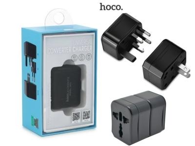 Универсален Преходник за Контакт HOCO AC1 EU/US/UK/AU