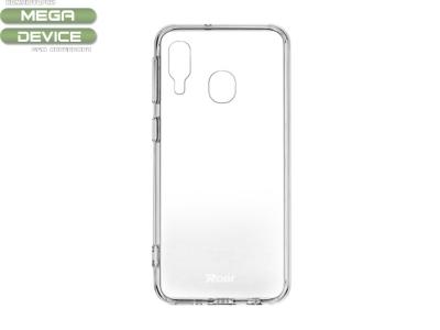 Силиконов гръб Jelly Roar за Samsung Galaxy A40, Прозрачен