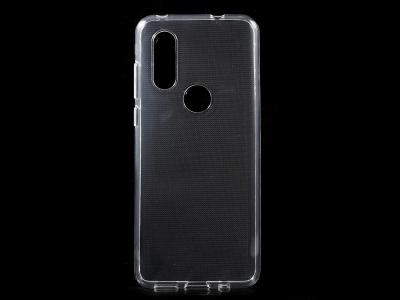 Силиконов гръб за Motorola One Vision / P40, Прозрачен