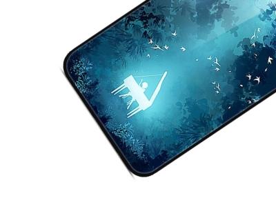 Стъклен Гръб Glass за Huawei P Smart Z / Y9 Prime 2019, Горско пиано