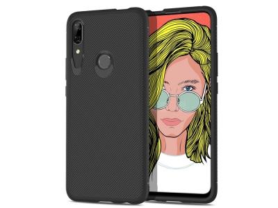 Силиконов Гръб  Twill за Huawei P Smart Z / Y9 Prime (2019), Черен