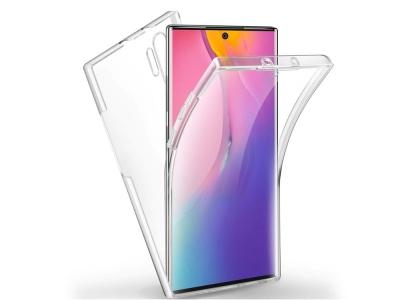 360 Градуса Калъф за  Samsung Galaxy Note 10 Plus, Прозрачен