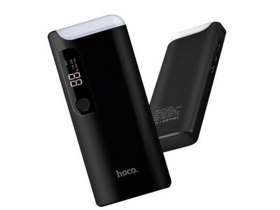 Универсална Външна Батерия Hoco 15000 mAh PS B27, Черен