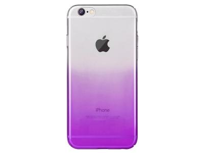 Силиконов Гръб OMBRE за iPhone 6 / 6S, Лилав