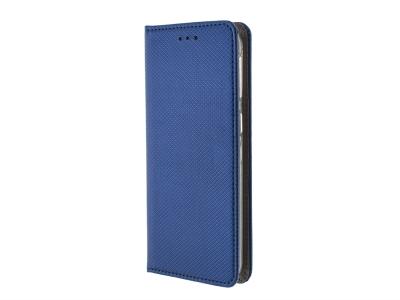 Калъф Тефтер Smart Book за Samsung Galaxy A40, Син
